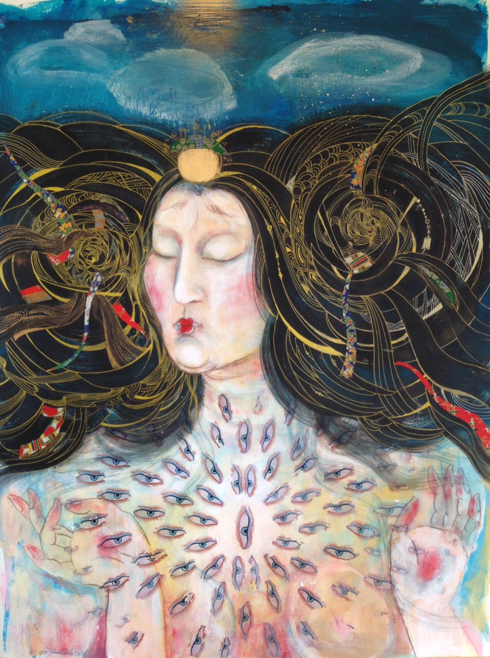 pintura intuitiva tiffani gyatso