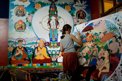 Tiffani Gyatso buddhist painting