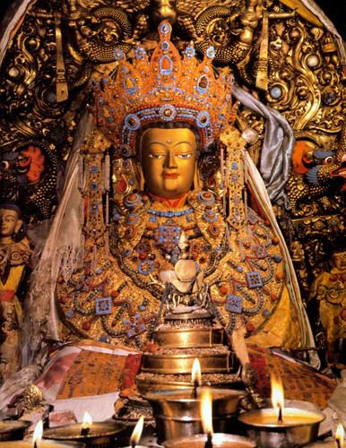Estatua Jowo - no Johkhan, Lhasa