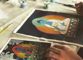 Thangka, arte do Budismo Tibetano