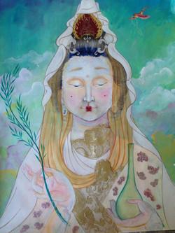 Kuan Yin of my dreams, 2017 (sold)