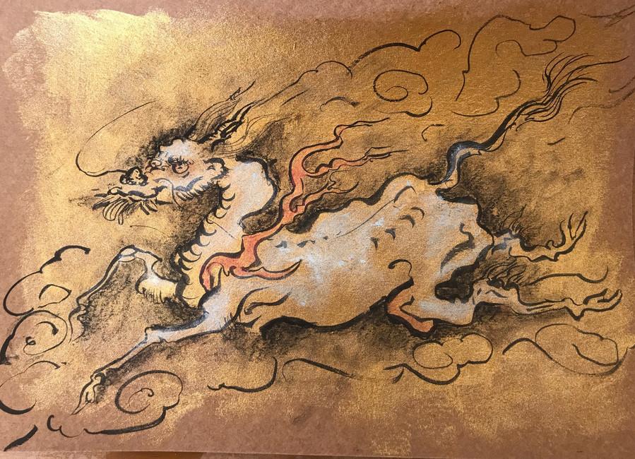 Dragon-horse