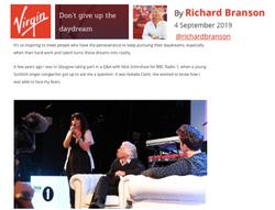 VIRGIN ARTICLE - RICHARD BRANSON