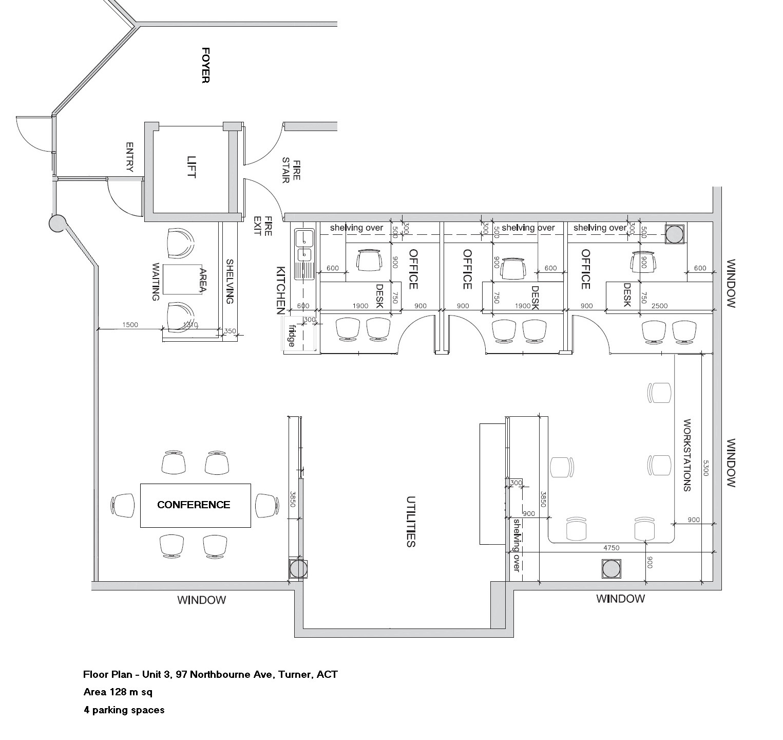 Unit 3, 97 Northbourne Avenue