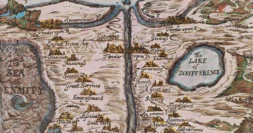 Joyce Kozloff.  The Map of Tenderness, 1678