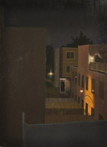 Night View from the Studio #2 by Chris Feiro