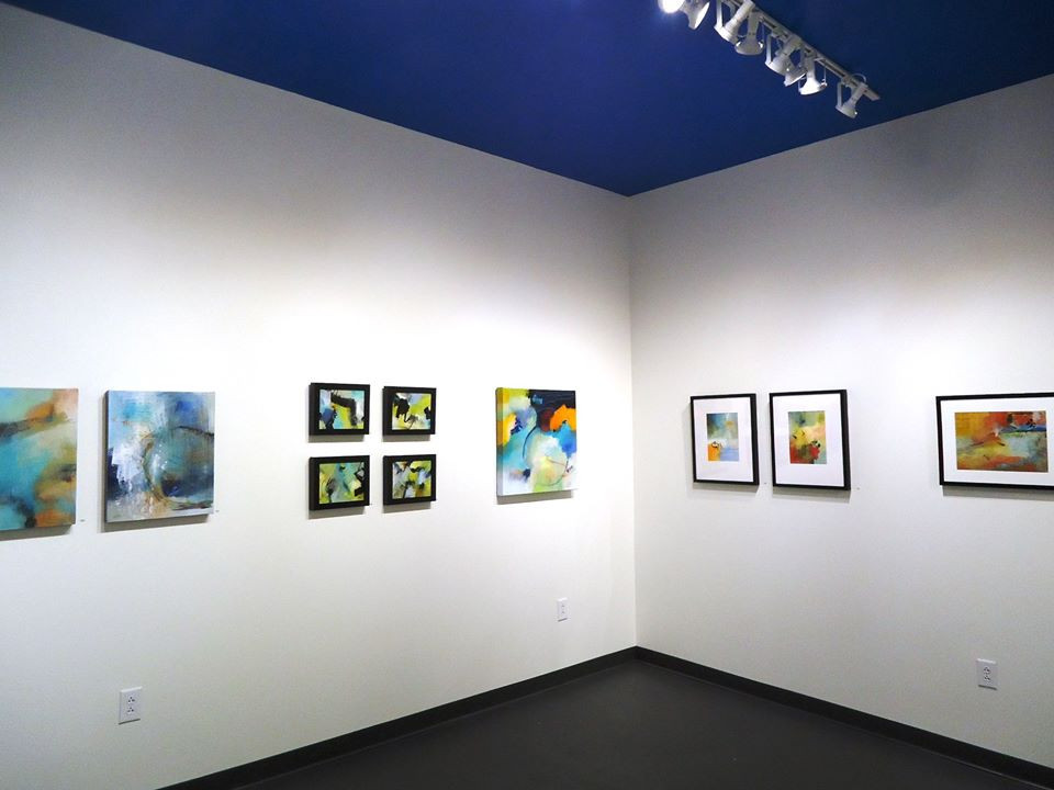 Installation view. Lee Muslin, painting