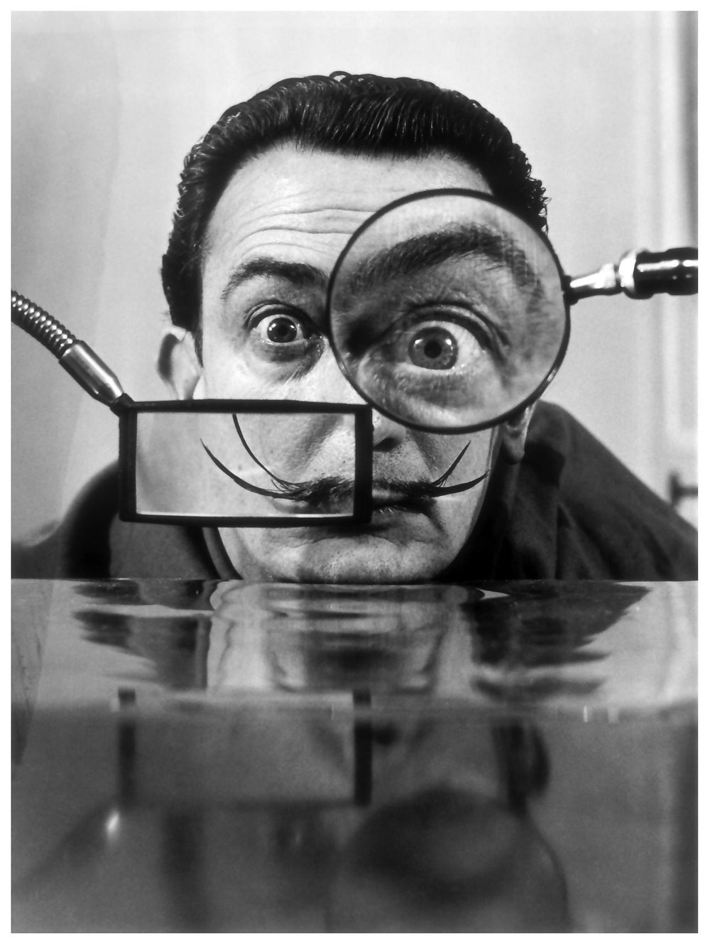 Of course, Salvador Dali says it with a picture!