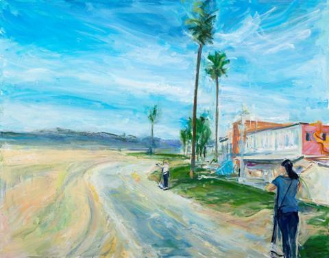 Venice Beach by Fran Lightman Gibson