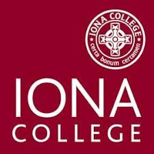 Logo for Iona College.  New Rochelle, NY.