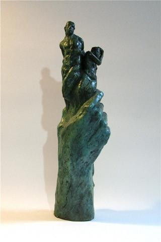 The Struggle by Colleen O'Donnell.  Bronze.