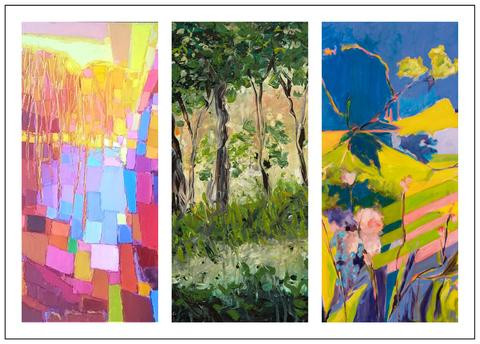 Postcard for Sojourns in Nature at Cerulean Arts