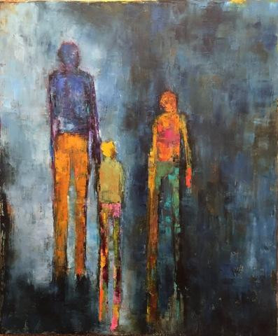 Denise Sedor.  Abandonment.  Oil on canvas.