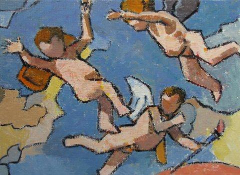 After Poussin, No. 4 by Gary Jenkins