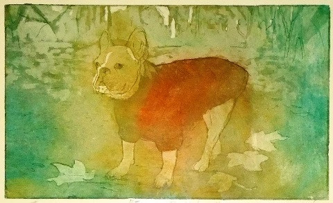 French Bulldog by Dori Spector