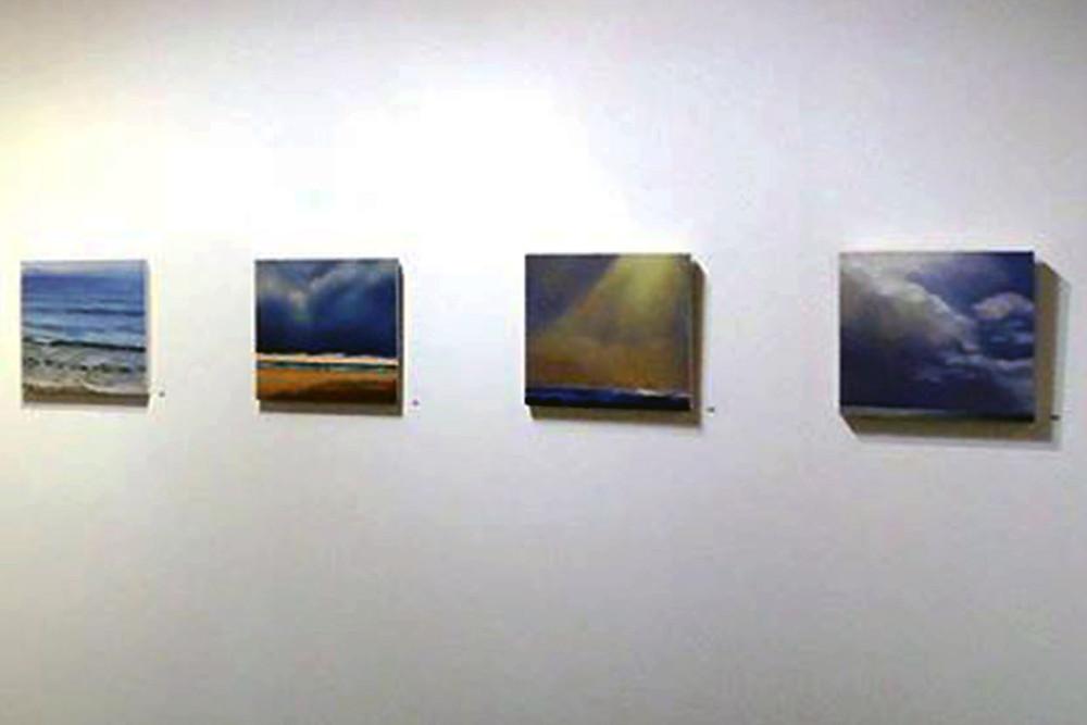Installation view.  , Marguerite Heilman, painting