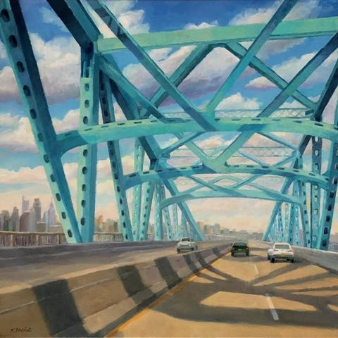 Eastbound on the Platt by Kimberly Hoechst