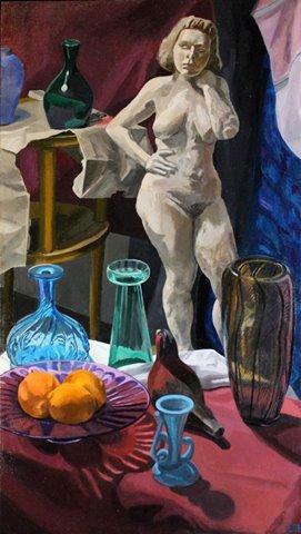 Night in the Studio by Elizabeth Heller