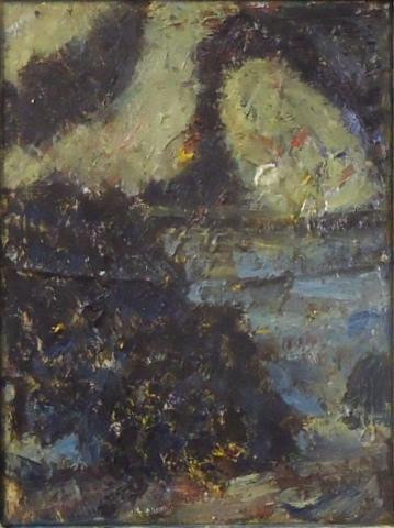 """""""Inlet at Night"""" by John Mitchell."""