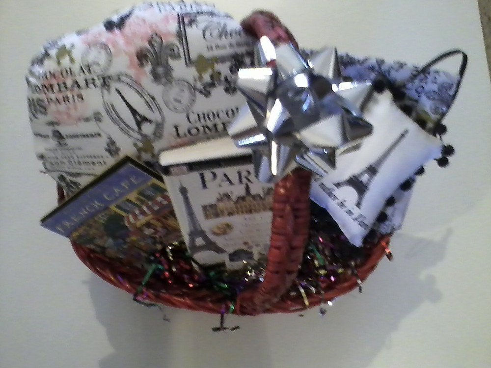 Paris basket from Artsphoria Craft Boutique.