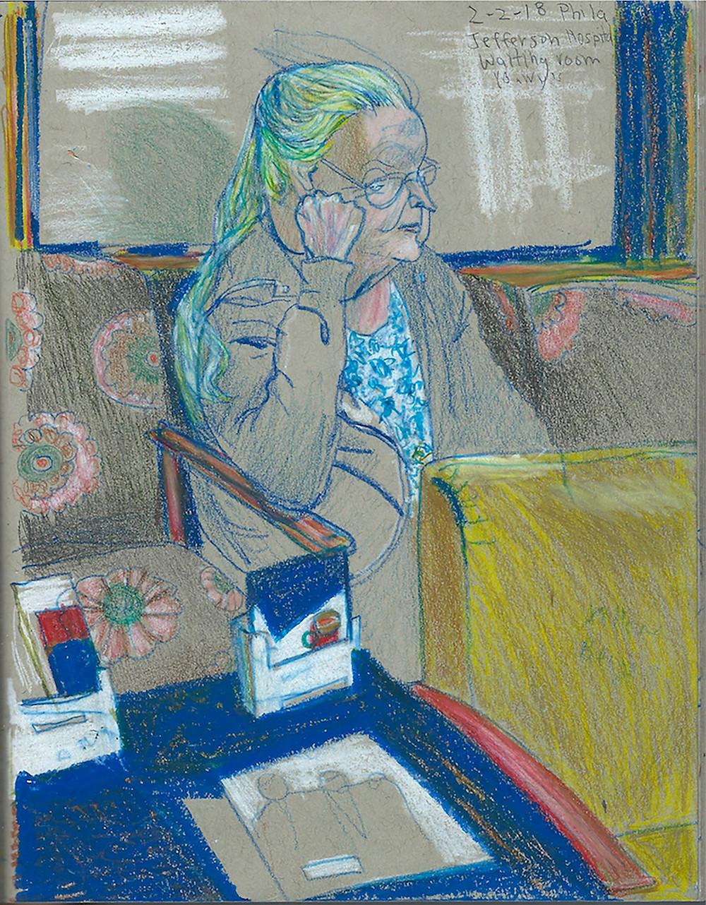 Waiting Room by Ellen Abraham