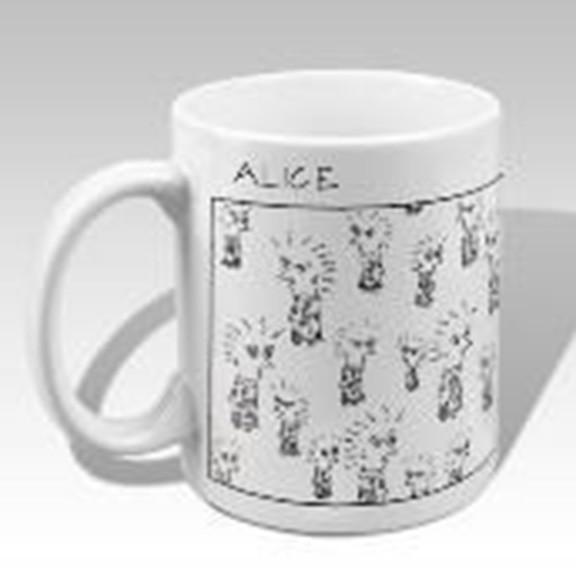 Alice mug available at Cerulean Arts and at https://ceruleanarts.com/products/alice-cartoons-mug