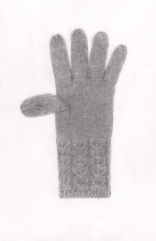 Knit Glove by Maria DiMauro