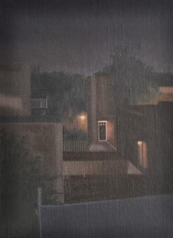 Night View from the Studio #1 by Chris Feiro