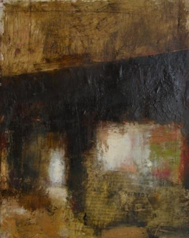 """""""12th & Callowhill"""". Oil on canvas, 10"""" x 8"""""""