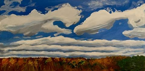 Rolling Clouds by Mary Powers Holt