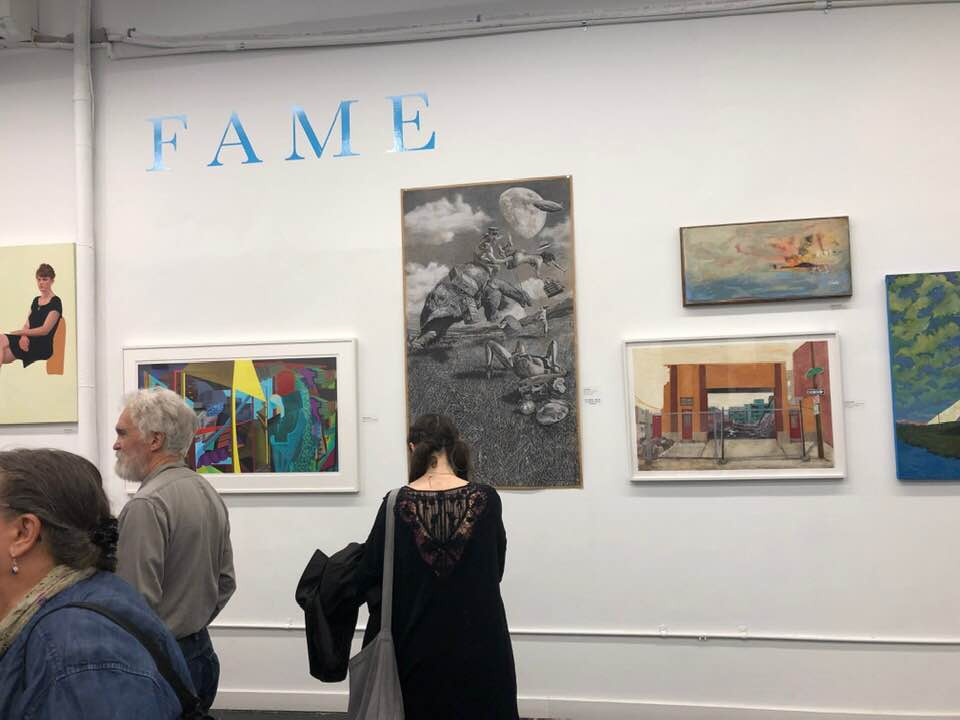 2019 Fellowship Annual Members' Exhibition (FAME); opening, May 6th.