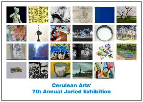 Announcement for Cerulean Arts' 7th Annual Juried Exhibition