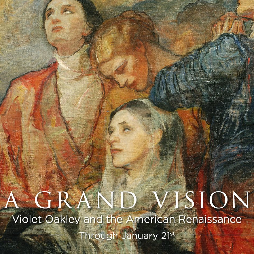 Cover to Violet Oakley: A Grand Vision.
