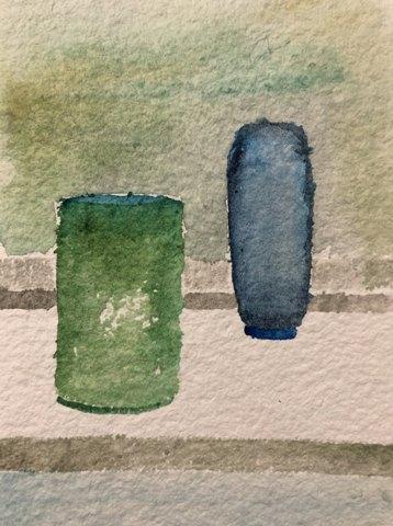 Morandi Bottles by Amanda Moseley