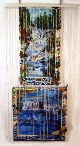 Waterfall by Carol Taylor-Kearney