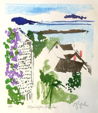 Julie Zahn.  Stonington Clouds.