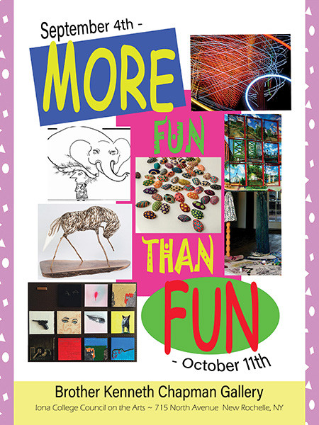 "Cover for catalog for ""More Fun Than Fun"""
