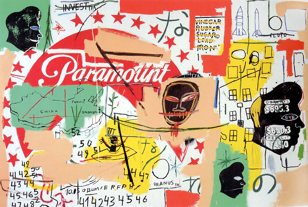 Paramount by Andy Warhol and Jean-Michel Basquiat.