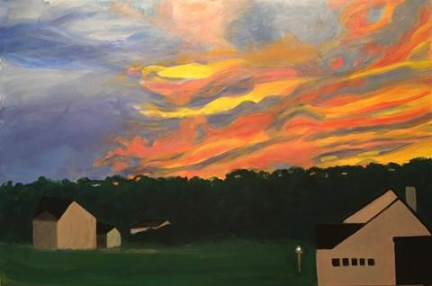 Electric Dusk by Mary Powers Holt