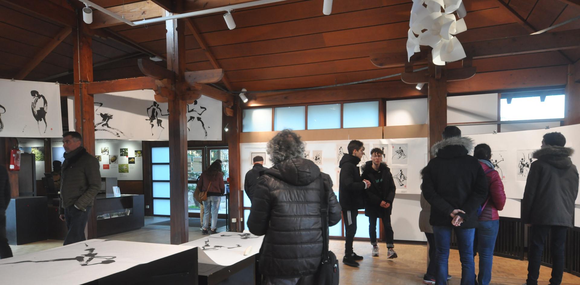 Exposition Chorégraphie calligraphiée