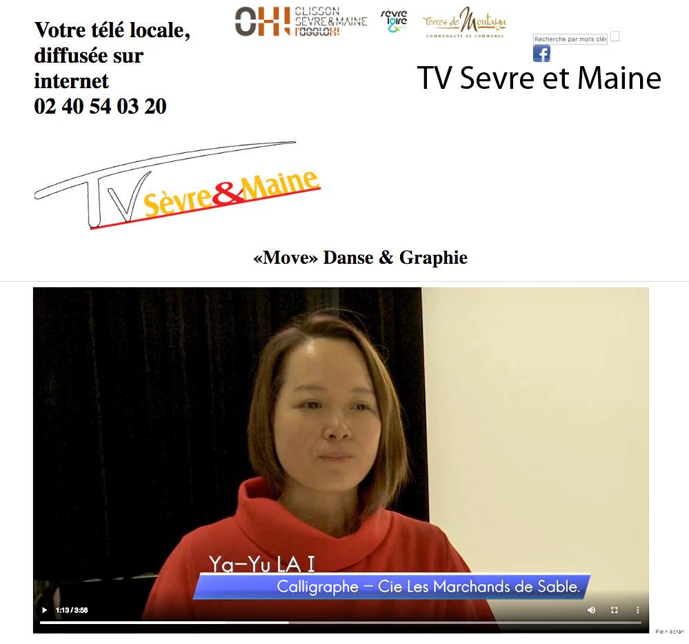 Exposition_ TV Sèvre et Maine