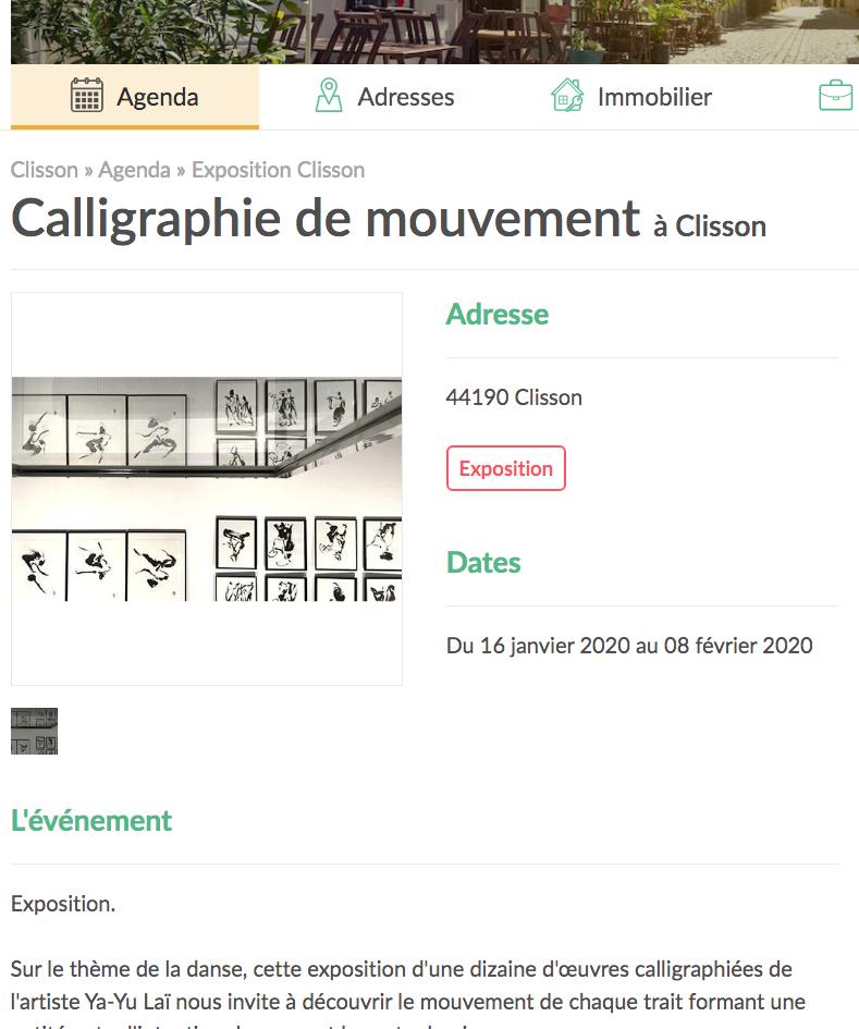 Exposition de calligraphie_Site Tous voisins