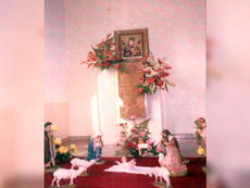 Side altar as it is today