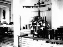 A view of the sanctuary in the 60s