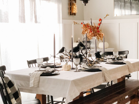Branch & Crows: A Game of Thrones Inspired Halloween Tablescape