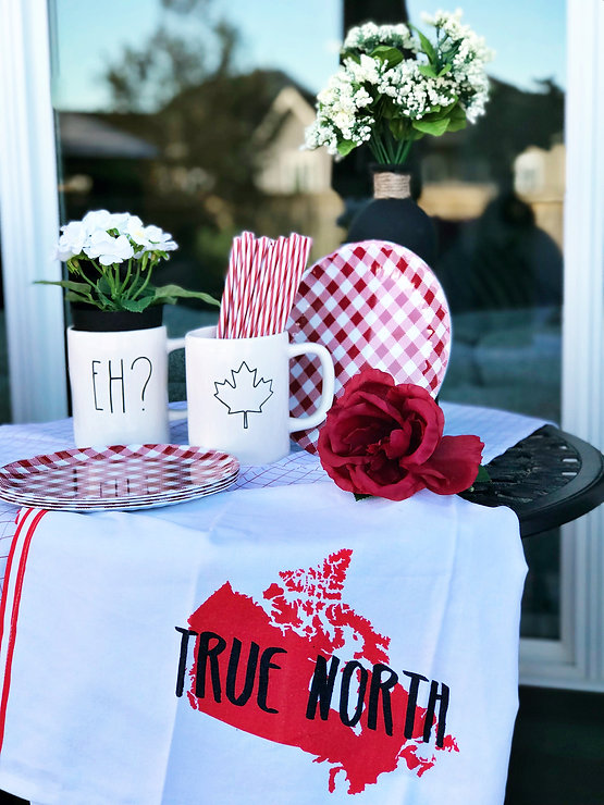 Celebrating Canada Day Food And Decor For Your Backyard Party