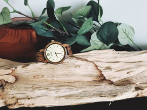 Unique Woman's Watch: bringing the outside in through your home AND in your style