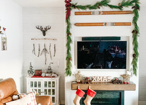 A Hallmark Christmas Home: The Kitchen and Family Room