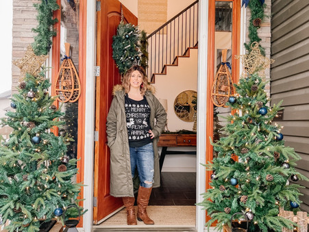 I'll Have a Blue Christmas in 2020: Christmas Home Tour
