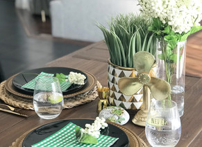 St. Patrick's Day Tablescape: inspiration for an Ireland vacation